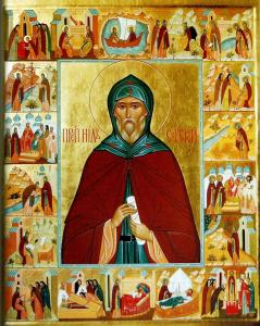 Икона Преподобный Нил Сорский Чудотворец
